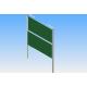 Kerámia krétás 350 X 100 oszlopállványos ellenmozgó rendszer mágneses alumínium keretes táblával