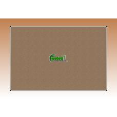 Kitűző parafa 150 X 100 alumínium keretes fali tábla