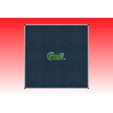 Kitűző szövetes-textil 100 X 100 alumínium keretes paraván táblatest