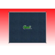 Kitűző szövetes-textil 120 X 100 alumínium keretes fali tábla