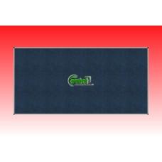 Kitűző szövetes-textil 200 X 120 alumínium keretes fali tábla